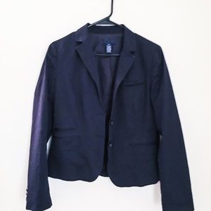 J. crew navy blue blazer 8 medium